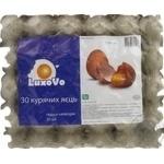 Яйце куряче С1 LuxOvO 30 шт.