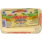 Масло солодковершкове 73% Селянське Богодухівське пергамент 0,5 кг