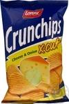 Чіпси картопляні зі смаком сиру та цибулі Crunchips x-cut 75г