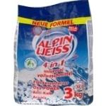 Порошок стиральный Alpin Weiss 4в1 универсальный 3кг