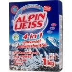 Powder detergent Alpin for washing 1000g