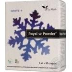 Концентрований безфосфатний пральний порошок Royal Powder White 1кг