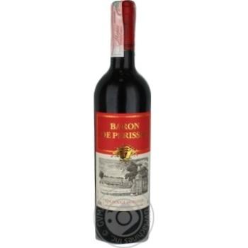 Вино Baron de Perissac Vin Rouge Moelleux красное полусладкое 11,5% 0,75л