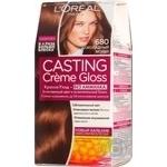 Краска-уход для волос L'Oreal Casting Creme Gloss 680 Шоколадный мокко без аммиака
