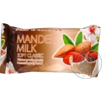 Крем мило Alpin Weiss Mandelk Milk 100г