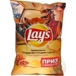 Чипсы Lay's со вкус американ ребрыш под сладк соус 133г