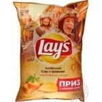 Чіпси картопляні зі смаком ітілійский сир з травами Lay's 133г