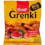 Гренки Flint Grenki ржаные со вкусом баварских колбасок 110г