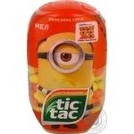 Драже Тic Tac зі смаком банана та мандарина T200*8 98г