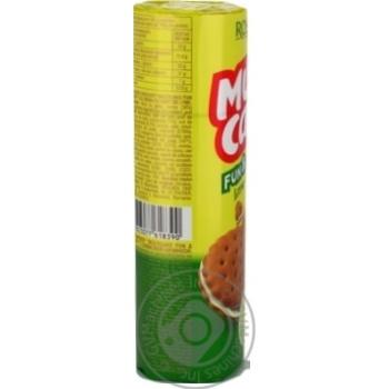 Крекер Roshen Multicake з лаймовою начинкою 135г - купити, ціни на Novus - фото 2