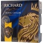 Richard Royal Ceylon black tea 100pcs