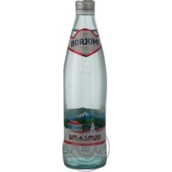 Вода Боржоми сильногазированная лечебно-столовая 330мл стеклянная бутылка Грузия