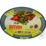 Simax Baking Dish of heat-resistant glass oval 30X21cm 2,2l