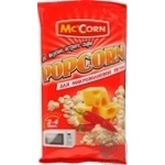 Popcorn Mc corn with taste of cheese 90g