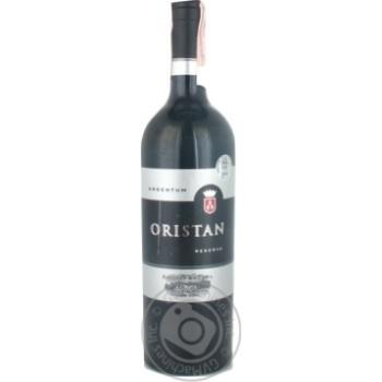 Oristan Reserva 2012 Red Dry Wine 12% 0,75l