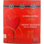Wine Le colline dei filari red dry 12% 750ml Italy