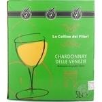 Вино Le Colline dei Filari Шардоне біле сухе 12% 5л