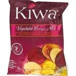 Овощные чипсы Kiwa микс 70г