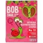 Конфеты Bob Snail яблочно-малиновые натуральные 120г