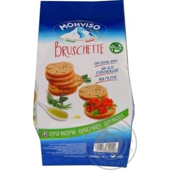 Хлебные брускеты Monviso с розмарином и шалфеем 120г
