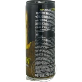 Напиток энергетический Burn Лимонайзер безалкогольный 0,25л - купить, цены на Novus - фото 2