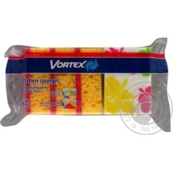 Губка Vortex кухонна з принтом 5шт - купити, ціни на Восторг - фото 2