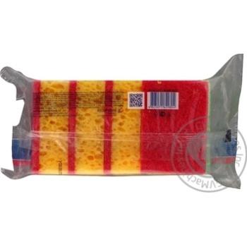 Губка Vortex кухонна з принтом 5шт - купити, ціни на Восторг - фото 3
