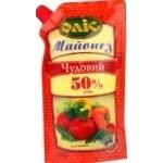 Mayonnaise Olis Chudoviy 50% 380g