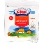 Bilocerkivskiy cottage cheese 9% 400g