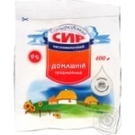 Bilocerkivskiy homemade style cottage cheese 9% 400g