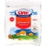 Сир кисломолочний Білоцерківський Домашній 9% пакет 400г