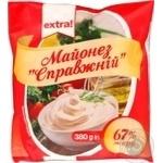 Mayonnaise Extra! Spravzhniy 67% 380g