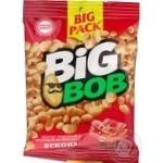 Арахис Big Bob жареный соленый со вкусом бекона 130г