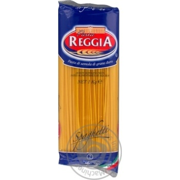 Макаронные изделия Pasta Reggia Spaghetti 1кг - купить, цены на Novus - фото 2