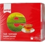 Tea Extra! black packed 100pcs 150g