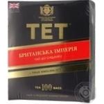 Чай черный ТЕТ Британская империя 100*2г/уп