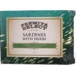 Сардини Premiya Select в олив мас с пряностям стер 115г