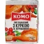 Сыр плавленый Комо с курицей и клюквой 90г