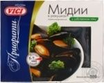 Seafood mussles Vici in own juice 500g