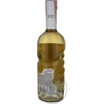 Вино Bolgrad GY Traminer Select белое полусладкое 11% 0,75л - купить, цены на МегаМаркет - фото 3