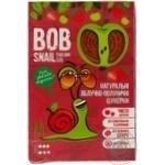 Конфеты Bob Snail натуральные яблочно-клубничные 60г
