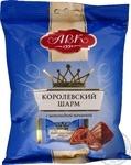 Конфеты АВК Королевский Шарм с шоколадной начинкой 113г