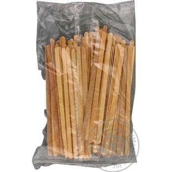 Мешалка одноразовая Extra! деревянная 100шт/уп