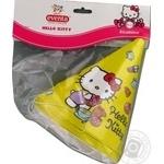 Колпаки бумажные Eventa Hello Kitty D13см 6шт