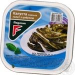 Салат з морскою капустою Сахалінскій Flagman 200г пластикова банка