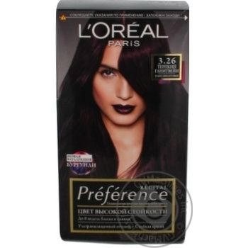Color L'oreal for hair