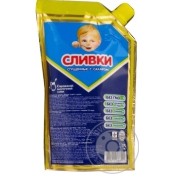 Сливки сгущенные с сахаром 15% 290г - купить, цены на Novus - фото 2