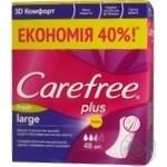 Pads Carefree Fresh for women 48pcs