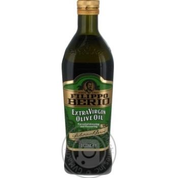 Масло оливковое Filippo Berio Extra Virgin с/б 1л