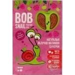 Конфеты Bob Snail натуральные яблочно-малиновые 60г